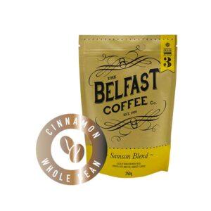Belfast Coffee - Cinnamon Infused Whole Bean
