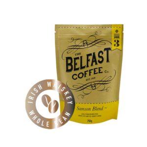 Belfast Coffee - Irish Whiskey Infused Whole Bean