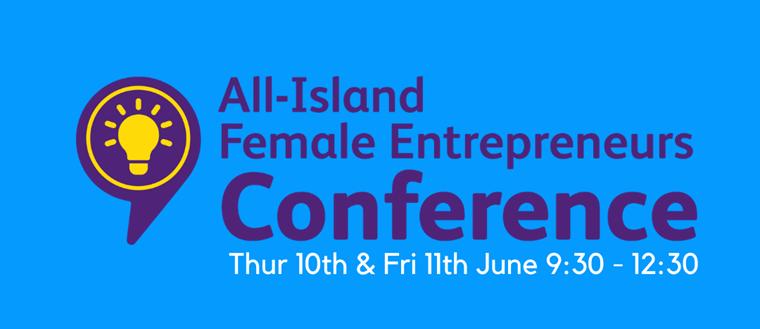 All Island Female Entrepreneurs Conference blue logo 1