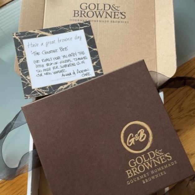 Gold & Browne's brownies