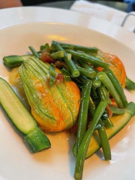 stock courgette flowers