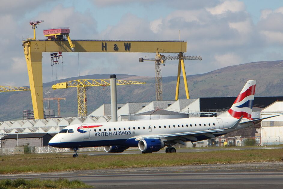 British Airways has extended its operations from Belfast City Airport this winter and added a new route to Birmingham.
