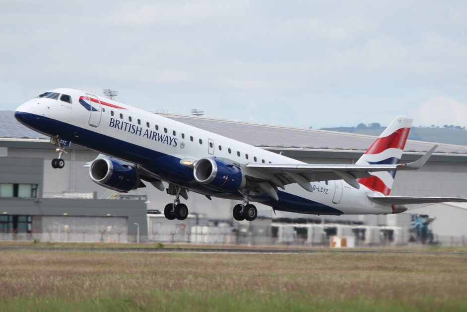 British Airways to extend its routes to Exeter Glasgow and Leeds and add new route to Birmingham