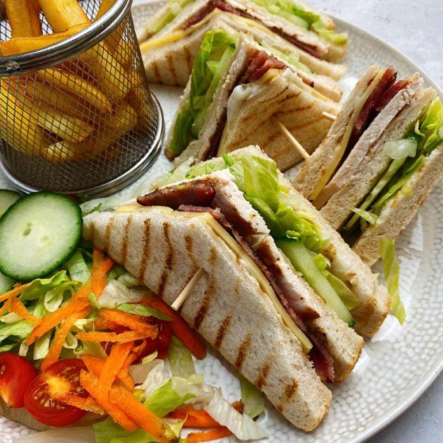 Crispy club sandwich 2