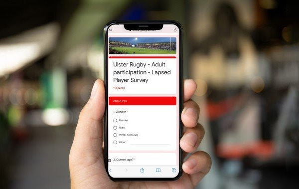 Ulster Rugby Training App