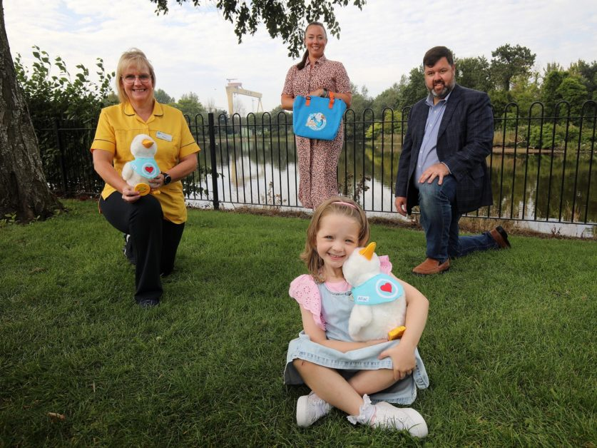Aflac NI partners with CCUC to launch ground breaking initiative bringing My Special Aflac Duck to local children living with cancer
