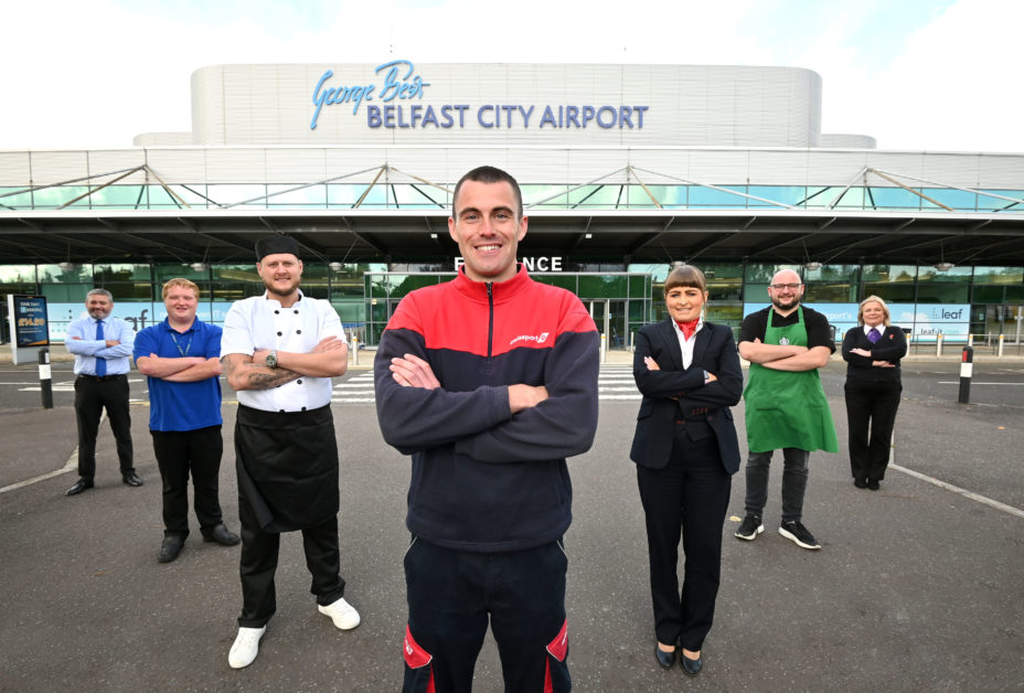 Belfast City Airport is seeking to recruit over 40 inviduals for roles with HMS Host MITIE Swissport WHSmith AV Flight and Value Cabs.